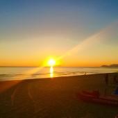 tramonto su sperlonga - bazzano